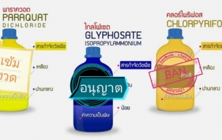 3 types of agricultural chemicals
